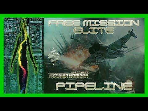 Pipeline [Free Mission, Elite] [Ace Combat: Assault Horizon] [1080p]