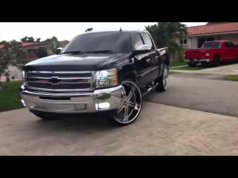 Silverado On 30s 2013 Miami Fl Youtube