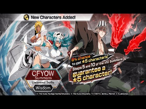 Bleach Brave Souls [CFYOW UNCOVERED TRUTHS SUMMONS] ALL IN MUTLIS