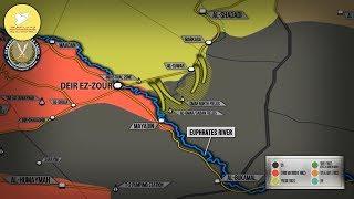 23 октября 2017. Военная обстановка в Сирии. Поддерживаемые США силы заняли крупнейшее месторождение