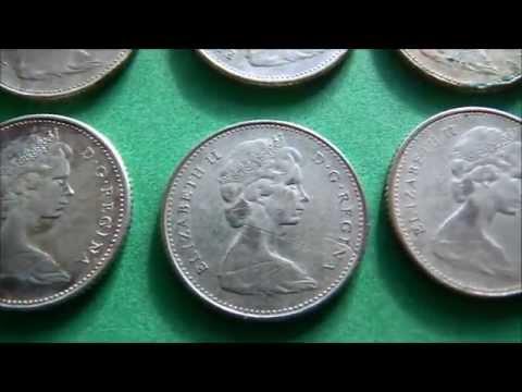 Elizabeth II 10 Cents CAD Silver Coin 1968
