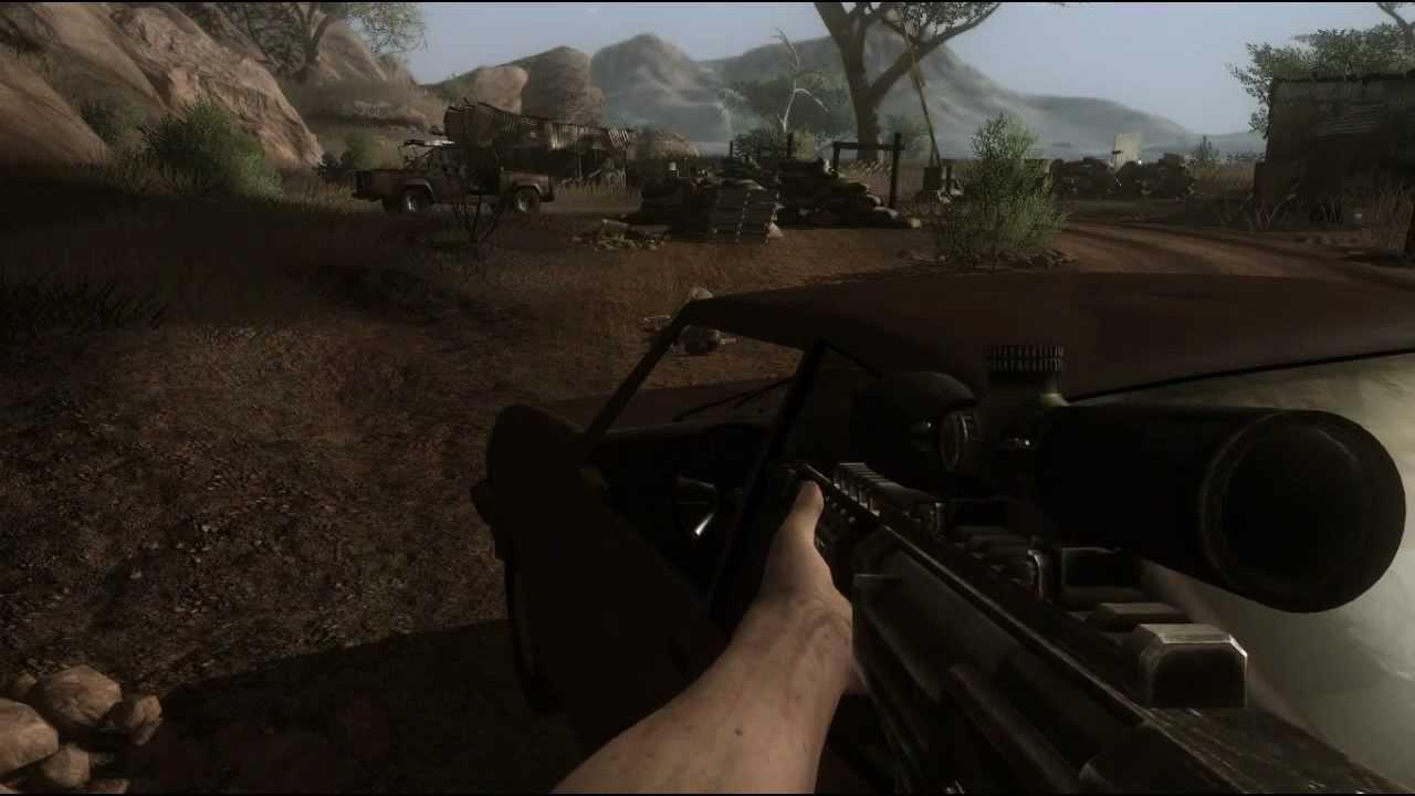 Far Cry 2 Gameplay Pc Espanol Max Settings Hd Youtube