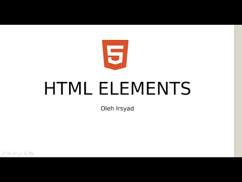 Tutorial HTML Dasar: HTML Elements/ Element HTML thumbnail