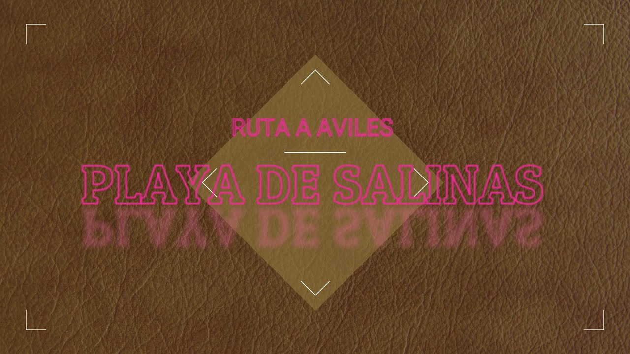 Ruta playera Salinas, Avilés (Asturias) 10 de julio