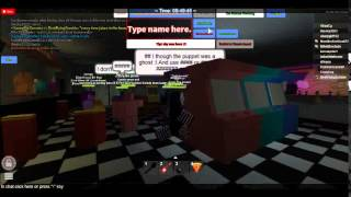 five nights at freddys (roblox)