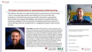 Principles and practices in asynchronous online learning