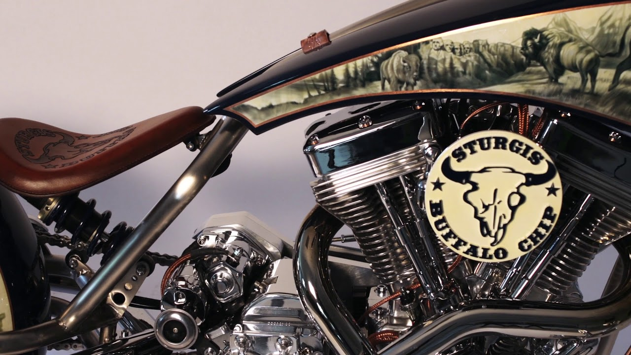 Legends Ride 2018 Auction Bike Built by Paul Teutul Jr  on