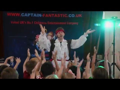 Pirate Parties by Captain Fantastic