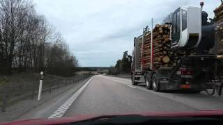 Bimmer Dashcam #8 - Two road trips in Sweden and plenty of morons