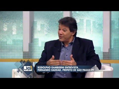 Rodolpho Gamberini Entrevista Fernando Haddad, Prefeito De São Paulo/PT