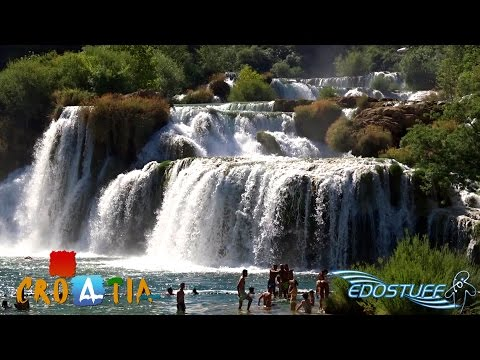 The Beauty of Krka National Park - Walking Tour Full HD