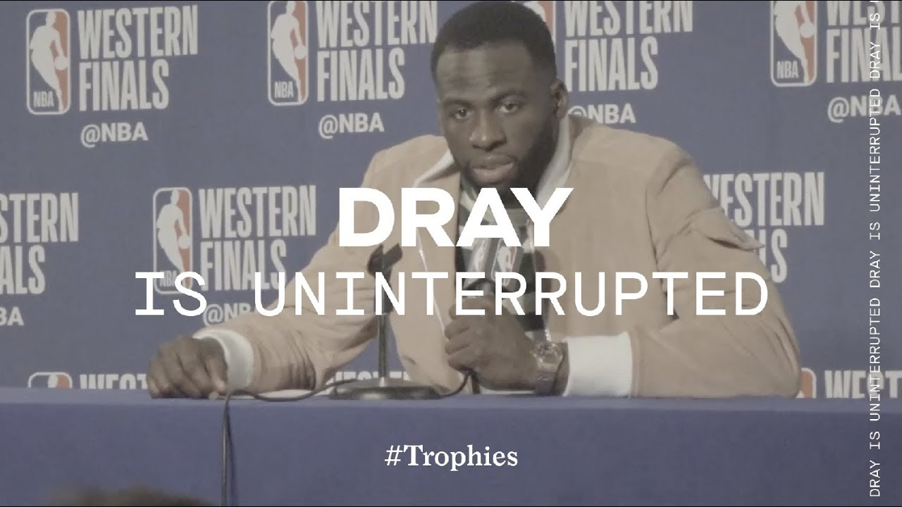 dray-and-warriors-head-into-nba-finals-trophies