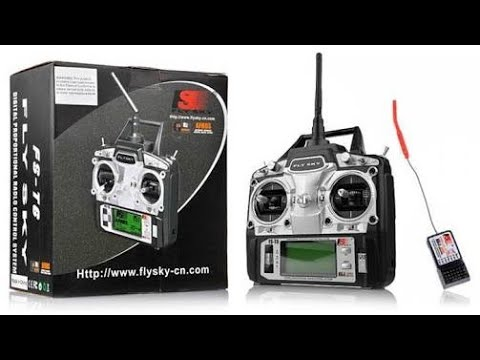 flysky fs t6 transmitter and receiver youtube. Black Bedroom Furniture Sets. Home Design Ideas