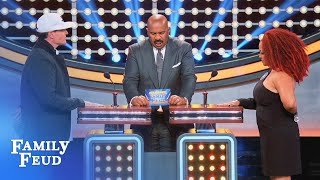 Will Kim & Vanilla Ice play NICE? | Celebrity Family Feud