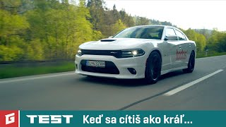 DODGE CHARGER SRT 6,4 V8 392 HEMI - TEST - DRIFT - Rasťo Chvála