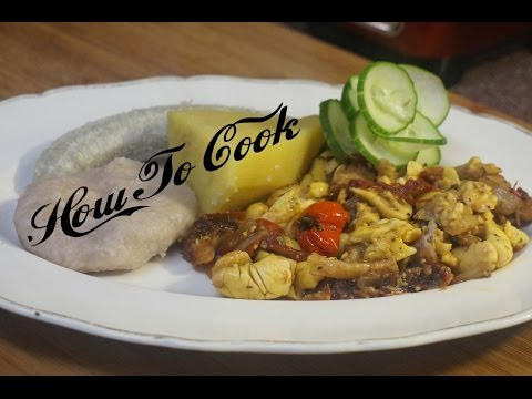 HOW TO MAKE JAMAICAN ACKEE AND SALTFISH RECIPE 2017