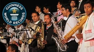 Most instruments used in a piece of music - Guinness World Records