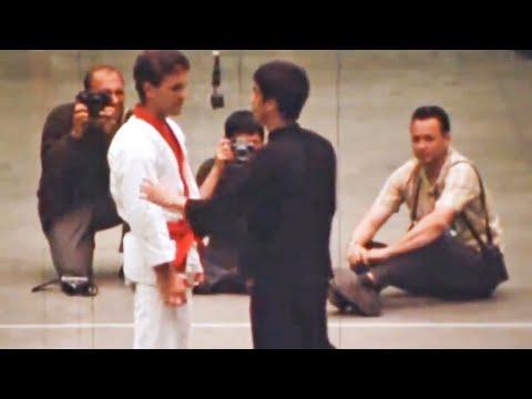Joe Lewis Tries To Teach Bruce Lee Karate........ Then This Happened