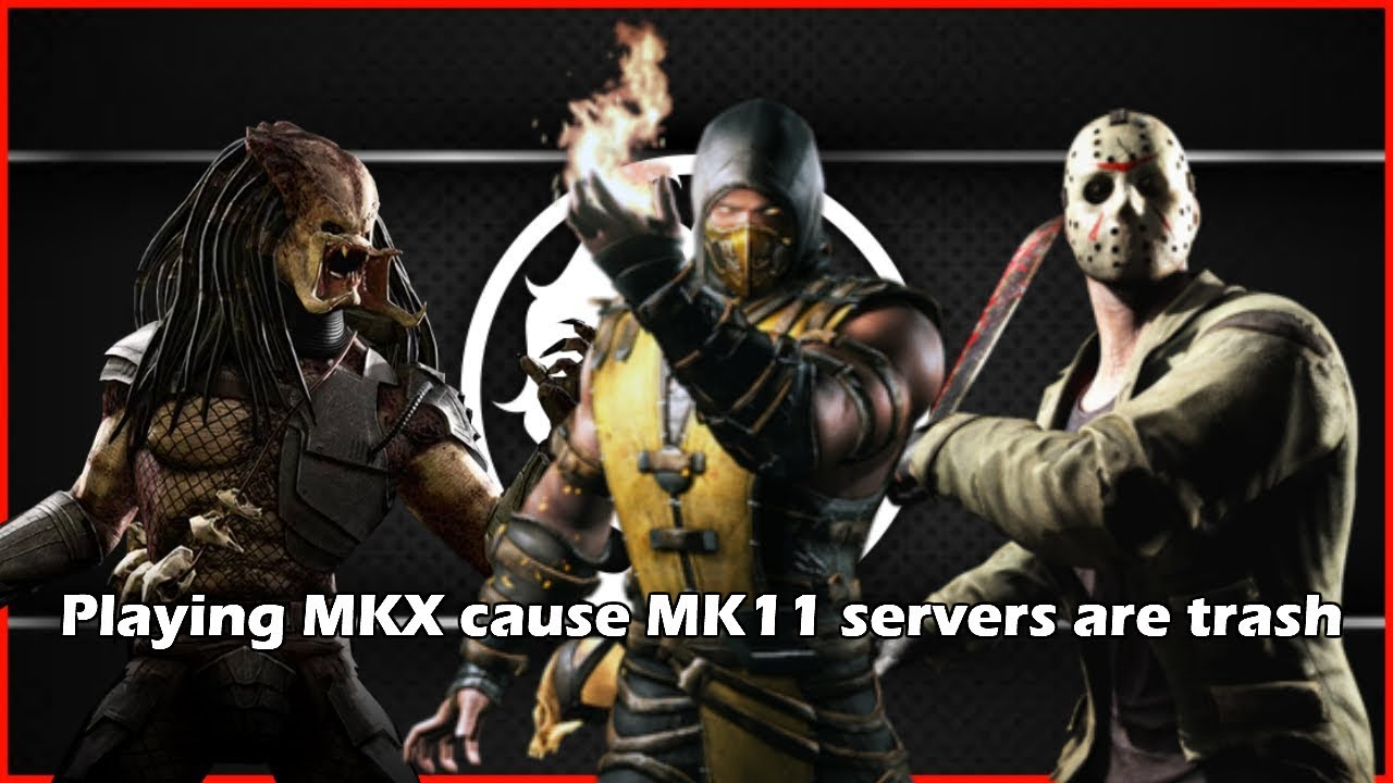 Playing MKX cause MK11 servers are trash | MKX online