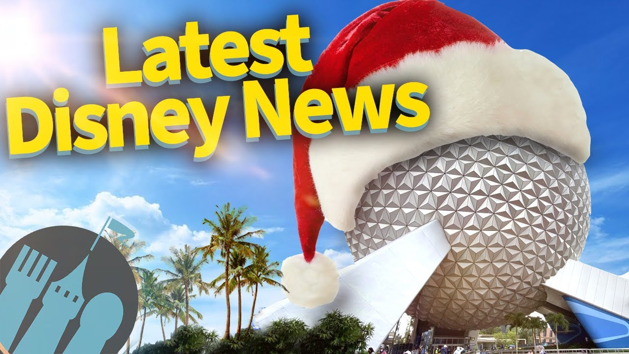 Latest Disney News: Disneyland Reopening Guidelines, EPCOT Holiday News, 2021 Discounts and MORE!