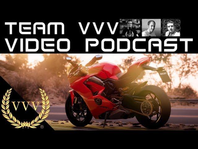 Team VVV Video Podcast 51 - Ride 3, F1 2018, Onrush, MotoGP 18, The Crew 2