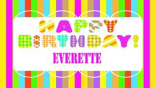 Everette   Wishes & Mensajes - Happy Birthday
