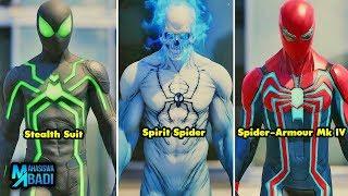 PETER PARKER JENIUS BANGET !!! Inilah Seluruh Kostum Spider-Man yang Ada di Marvel Universe