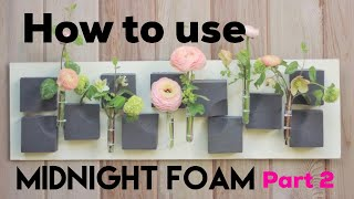 HOW TO MAKE FLORAL WALL ART FOR A ROOM / Miracle Design Time