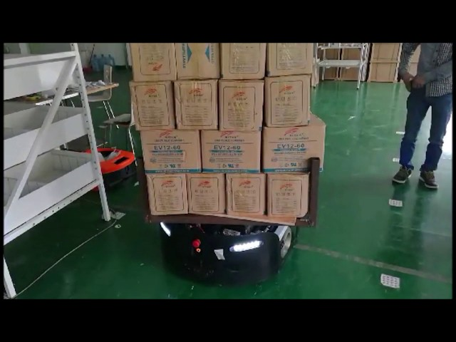 Warehouse & Logistics AGV Robot - ELFIN | Automated Guided Vehicles