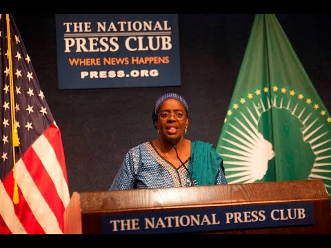 African Union Farewell Reception- HE Amina Salum Ali at National Press Club