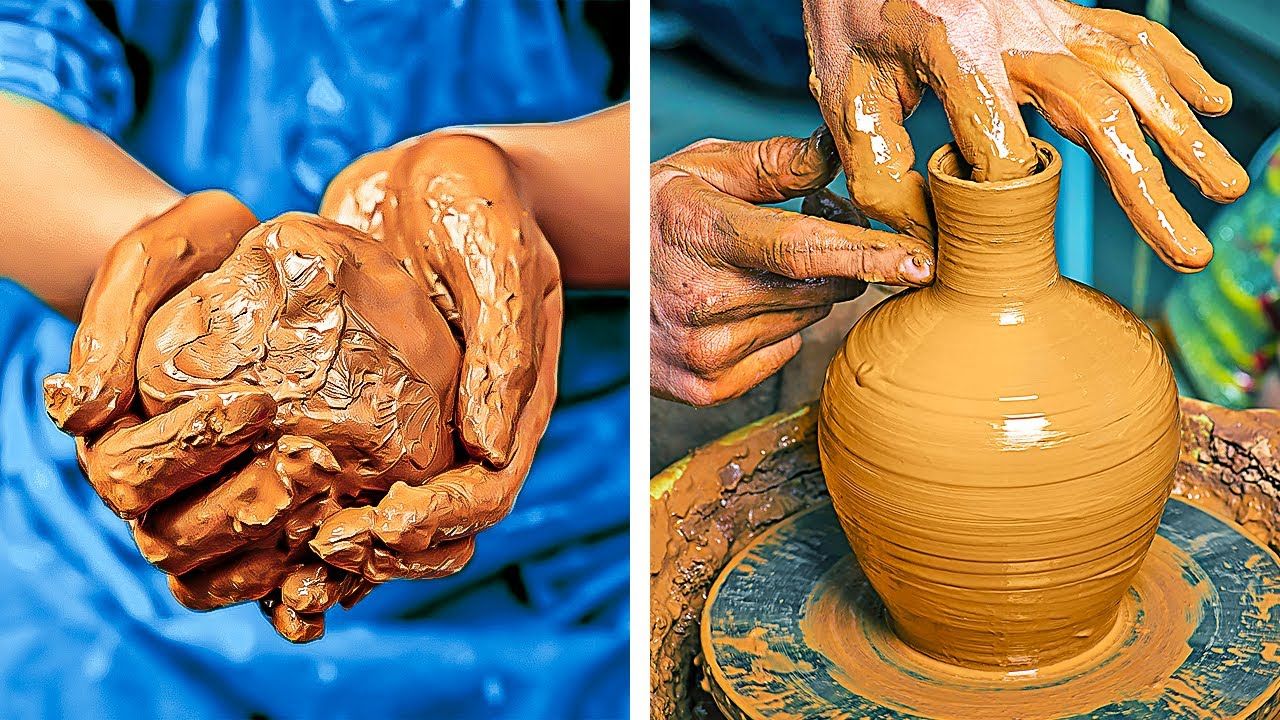 Great Сlay Pottery Crafts and DIY Ideas