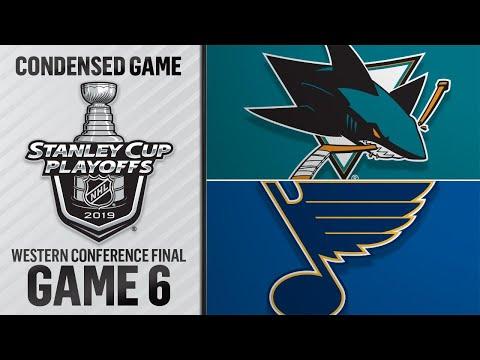 05/21/19 WCF, Gm6: Sharks @ Blues