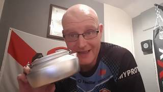 THE REVIEW OF THE TRANGIA KETTLE 0 6LTR   27 SERIES   LIGHTWEIGHT