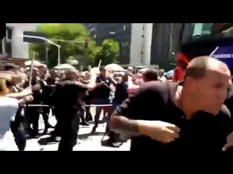 Confusão encerra bloco da Ludmilla no Centro do Rio