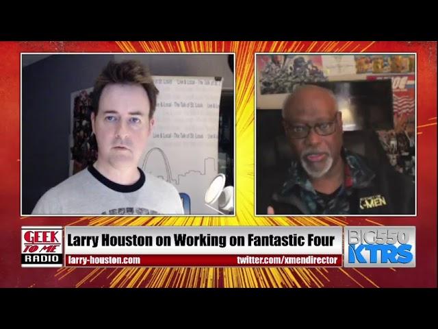 LIVESTREAM-X-Men: TAS Director Larry Houston LIVE TONIGHT