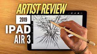 2019 IPad Air 3 - An Artist review