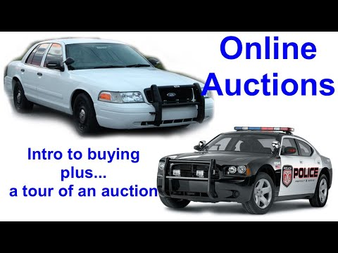 Police Municipal Government Online Auctions