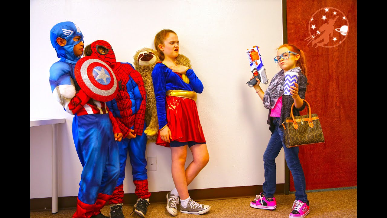 Little Superheroes 9 The Intern With Spiderman