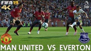 FIFA 19 (PC) Manchester United vs Everton | PREMIER LEAGUE PREDICTION | 28/10/2018 | 4K 60FPS