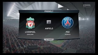 Liverpool : PSG (18-19 UCL Group C)