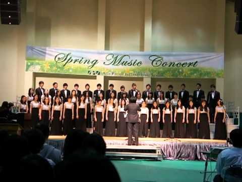 Asia Pacific International School MS&HS Chorus Spring Concert - Ave Verum Corpus (2011.3.10)