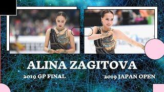 ALINA ZAGITOVA 2019 Japan Open VS 2019 GP Final