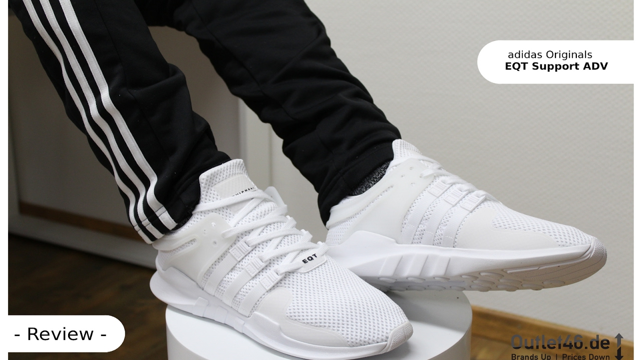 new product 77cc7 55f04 adidas EQT Support ADV DEUTSCH Review l On Feet l Haul l Overview l Outlet46