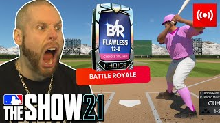 Attempting to go 12-0 on MLB the Show 21