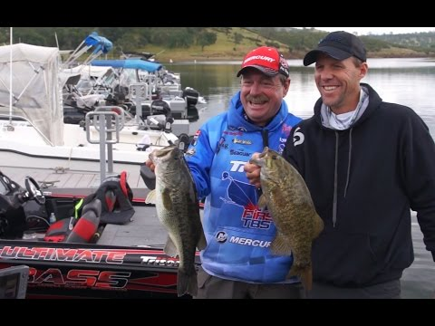 Bass Fishing Pardee Lake Media Day 2015 Ft. Shaw Grigsby!