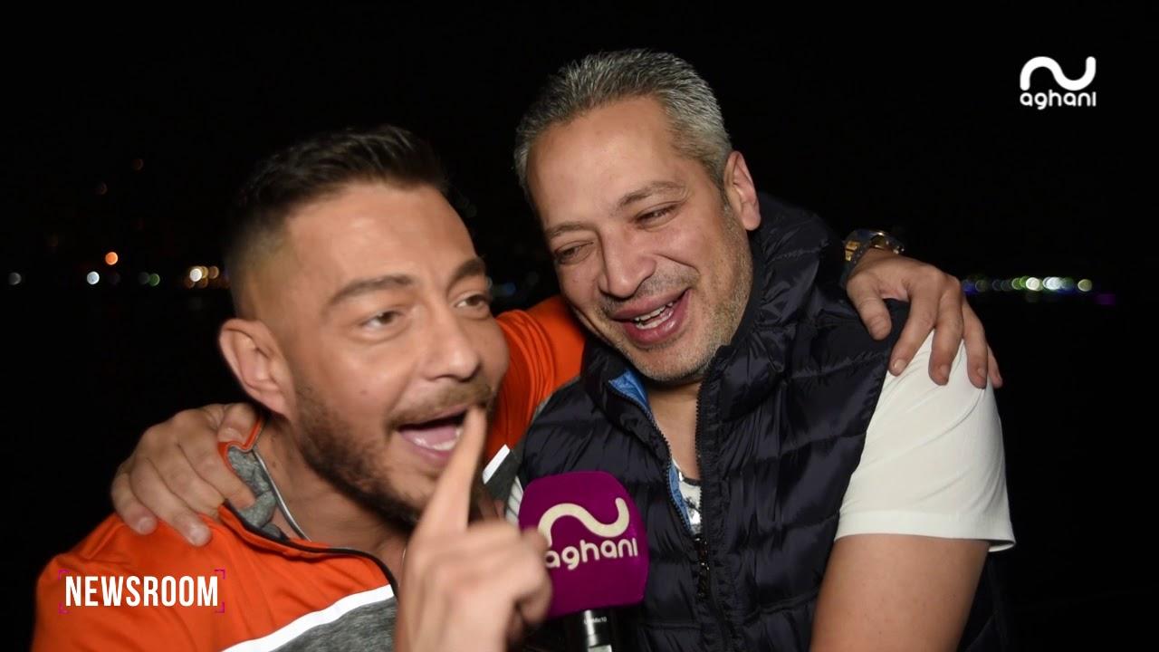 أغاني أغاني تدخل الزنزانة رقم 7 وتجمع أحمد زاهر، نضال الشافعي وتامر أمين!
