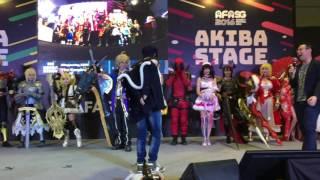 afasg2016 yuri on ice lip balm scene by hana and baozi