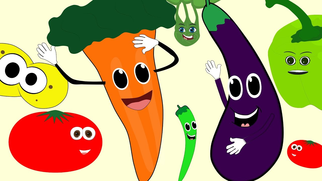 çocuk şarkilari Sebzeler Renkler çizge Tv çizgi Film Izle