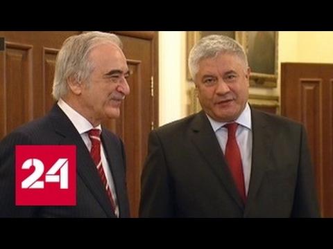 Колокольцев встретился с послом Азербайджана
