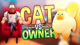 CAT DESTROYS HOUSE! Funny Cat Physics Game - Dante's Infernya Gameplay